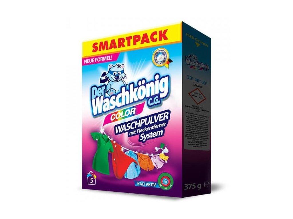 Waschkönig Color SMARTPACK 375 g prací prášek