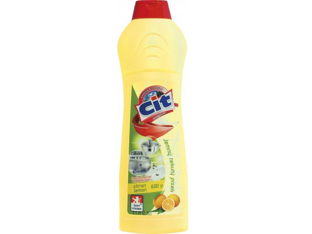 Cit písek tekutý 600 g Lemon