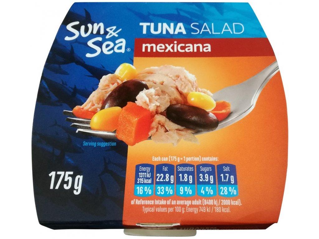 Salát s tuňákem Mexicana 175g SUN&SEA