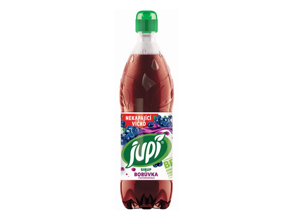 Jupí Sirup 0,7L Borůvka