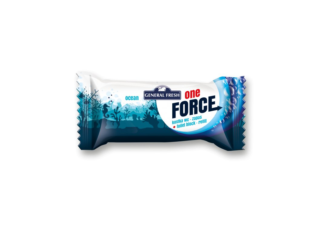 Force One Kostka WC 40g Refill Ocean