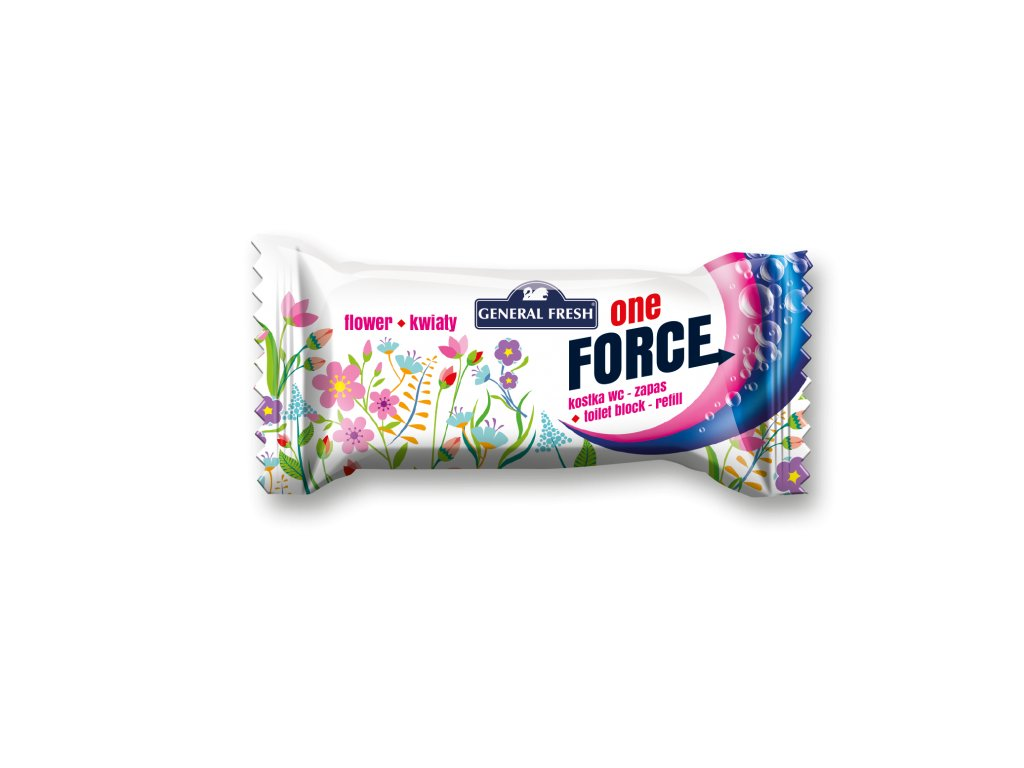 Force One Kostka WC 40g Refill Flower
