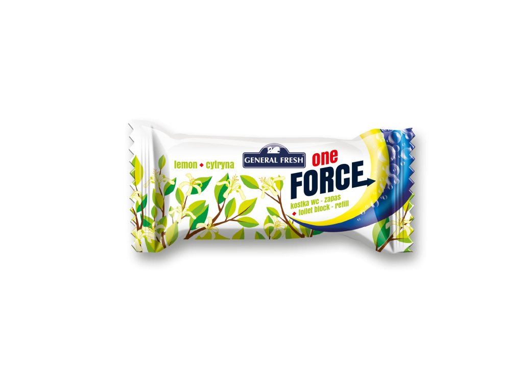 Force One Kostka WC 40g Refill Lemon