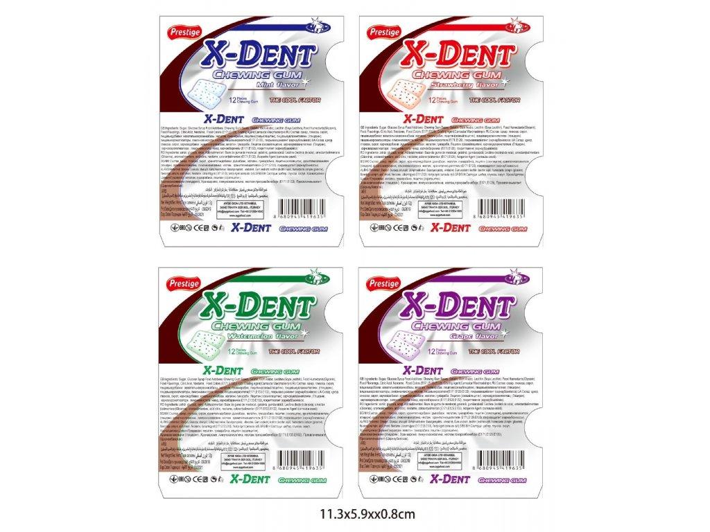 X-DENT křupavá žvýkačka 12g