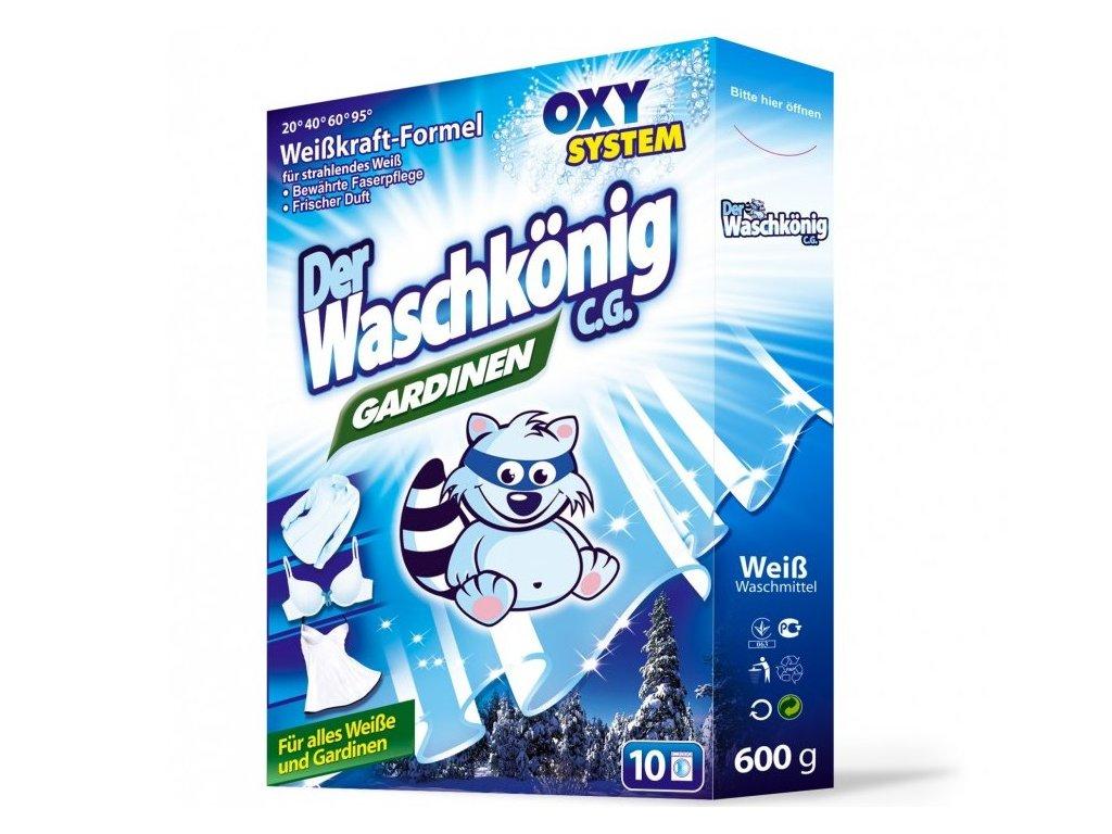 Waschkönig Gardinen 600 g prací prášek 10 praní.