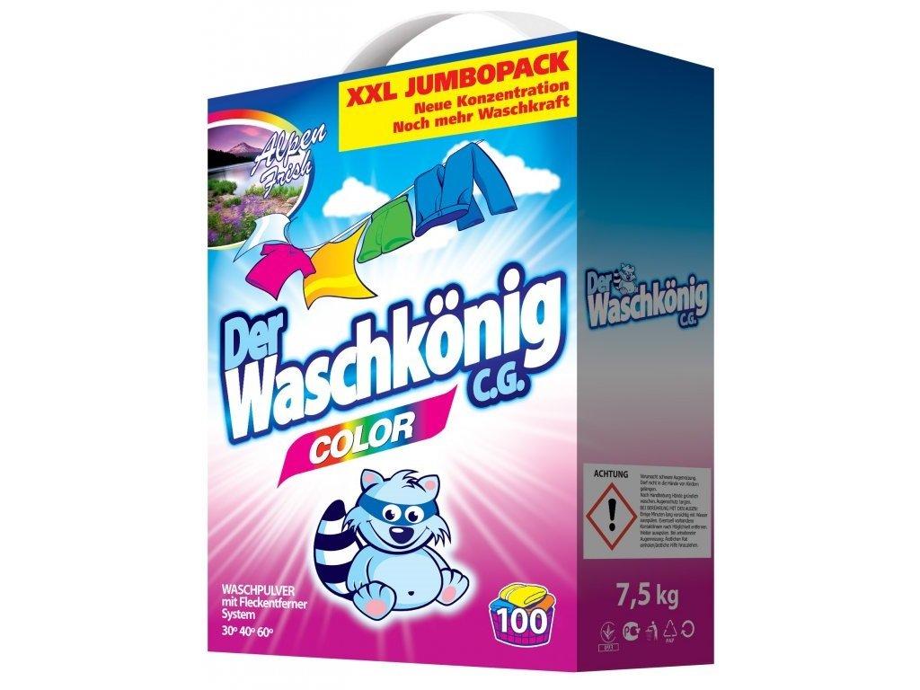 Waschkönig Color XXL JUMBOPACK 7,5 kg prací prášek 100 praní