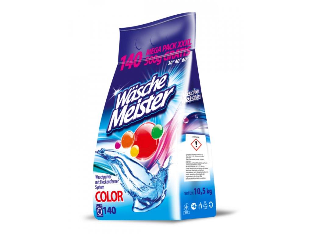 WascheMeister Color prací prášek 10,5 Kg 140 pracích dávek.1,7 Kč jedno praní LUXUS.