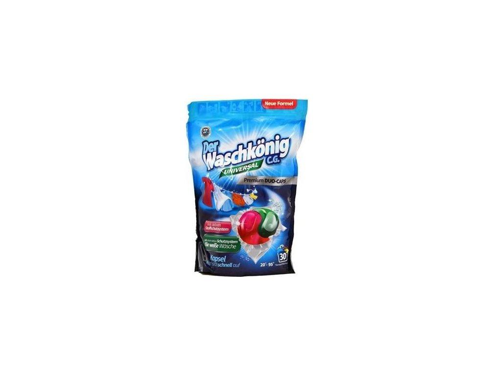 WaschKönig DUO-CAPS  Universal - kapsle na praní 30 Ks