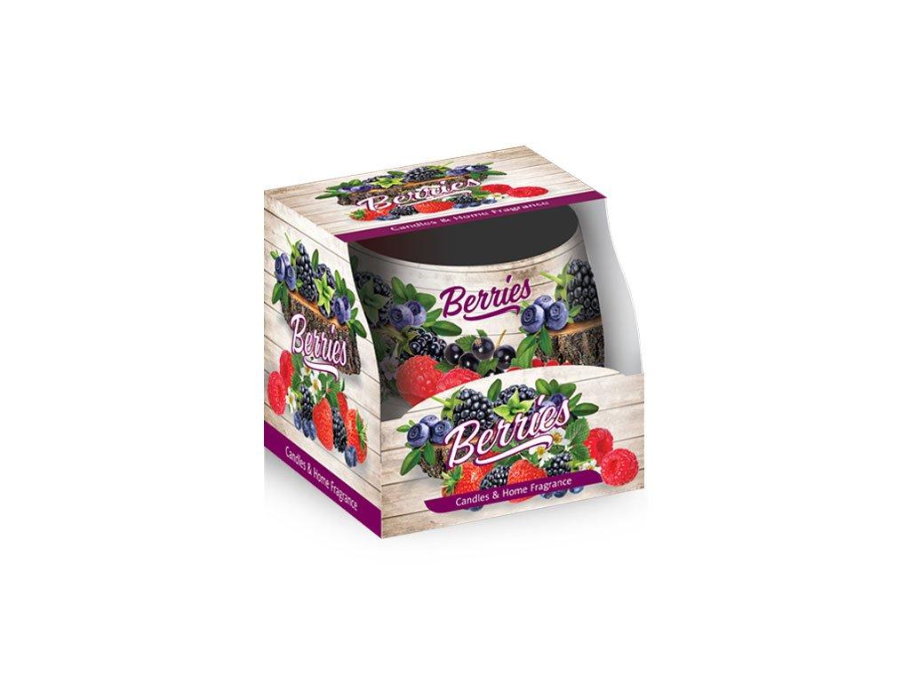 SANTO Vonné Svíčky 100g Berries