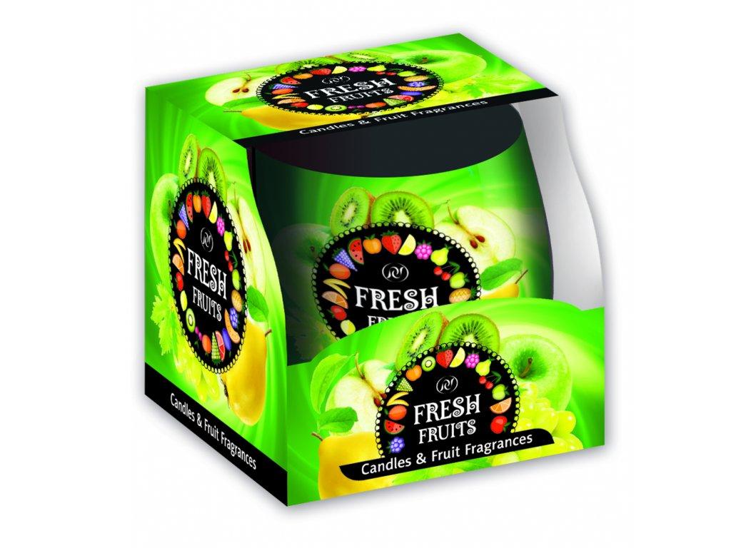 SANTO Vonné Svíčky 100g Fresh Fruits Green