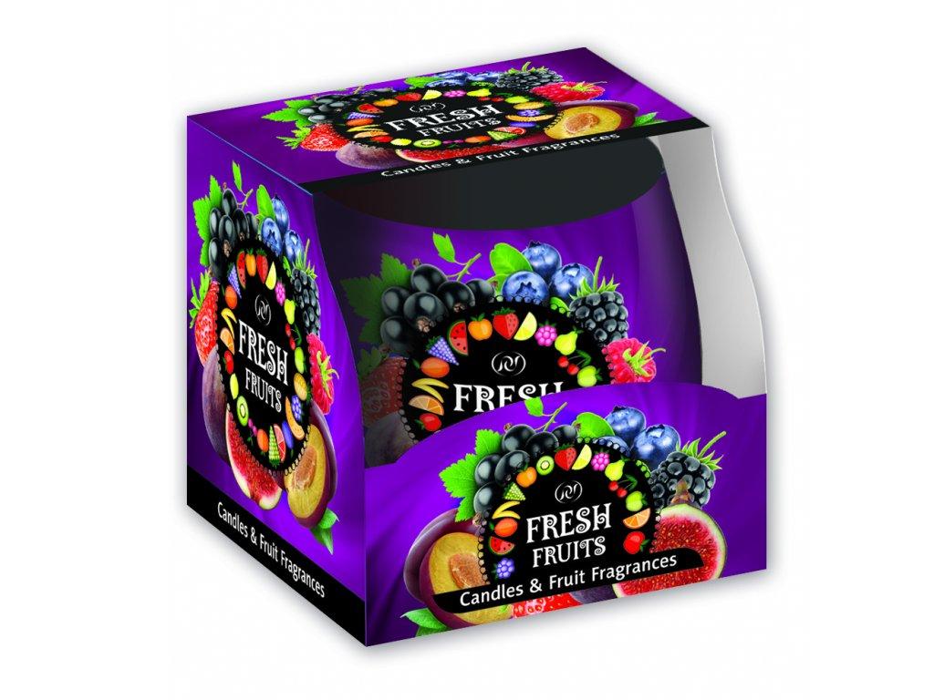 SANTO Vonné Svíčky 100g Fresh Fruits Violet