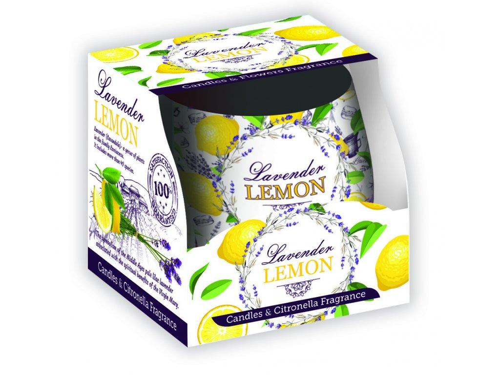 SANTO Vonné Svíčky 100g Lavender Lemon
