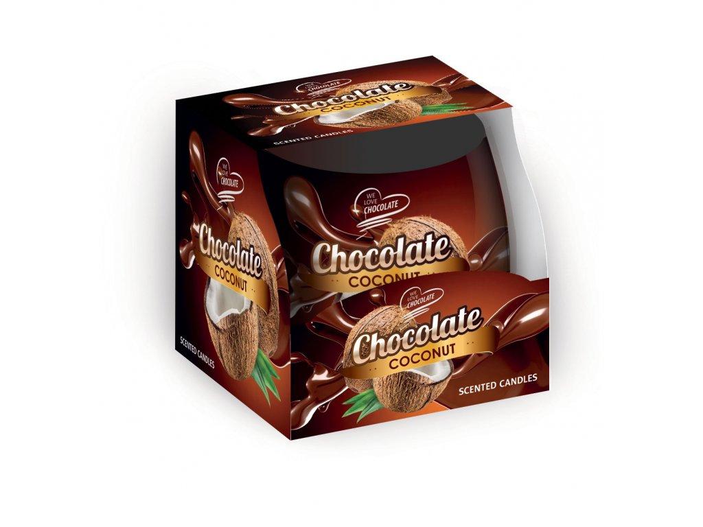 SANTO Vonné Svíčky 100g Choco-Coconut