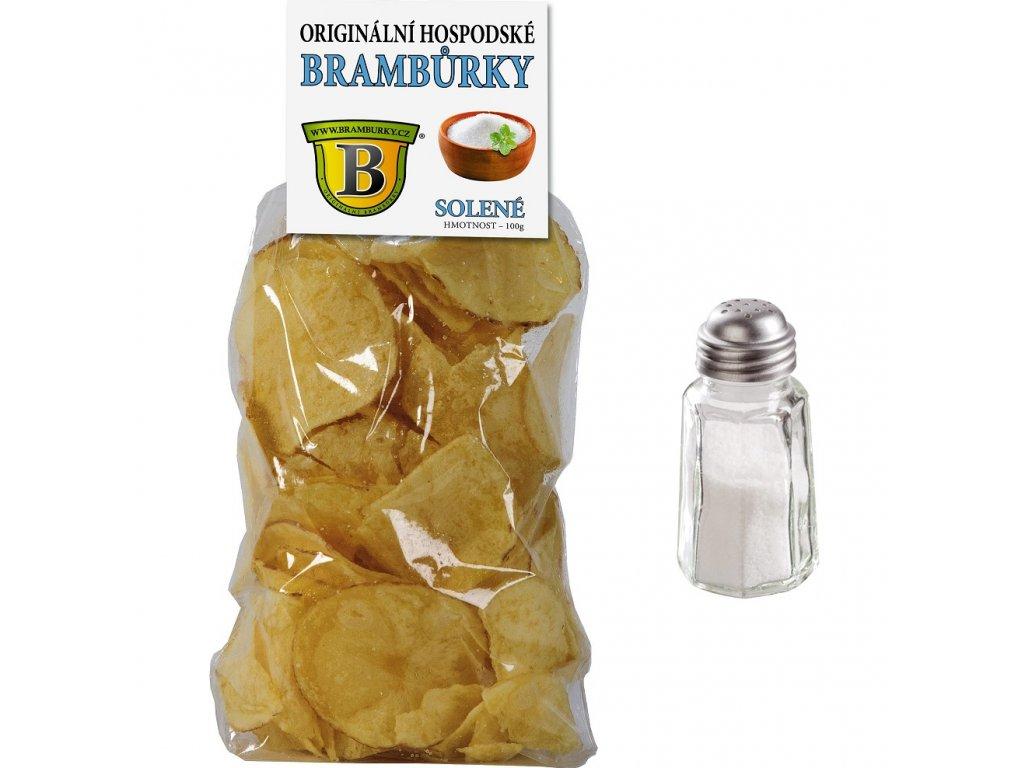 Hospodské Brambůrky 100g Sůl