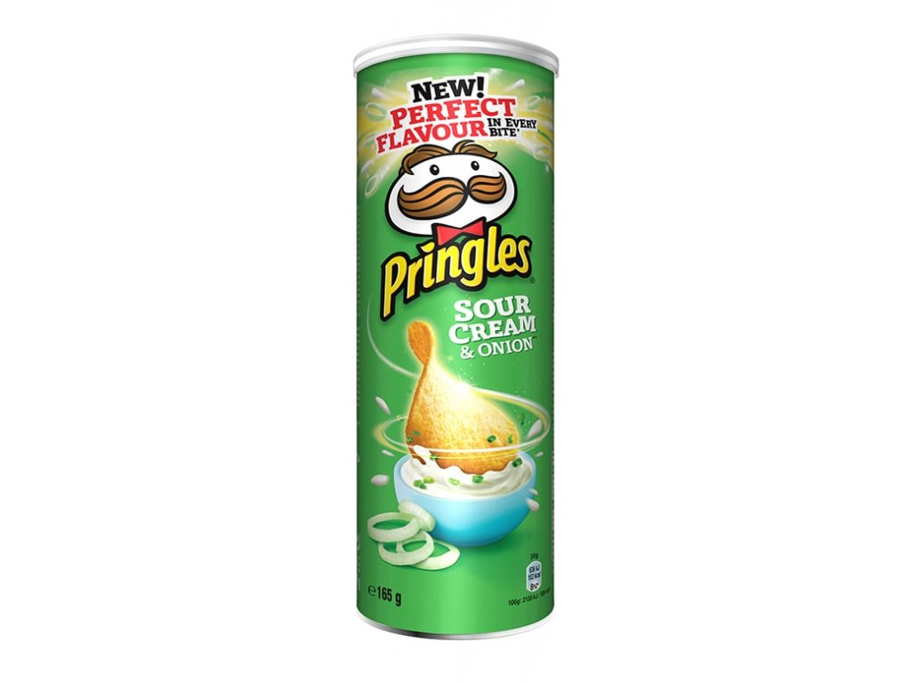 Pringles 165g Sour cream & Onion