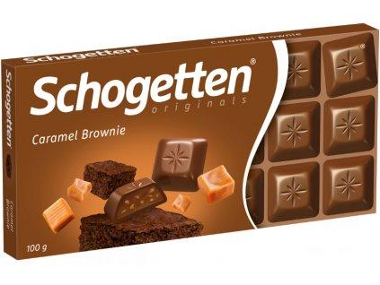 Schogetten 100g Caramel Brownie