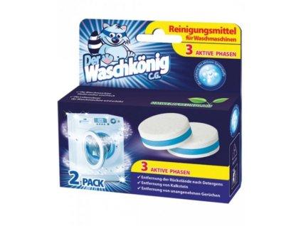 Waschkönig čistič pračky v tabletách 2ks