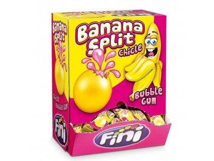 FINI Žvýkačky Banana Split 5 g BOX 200 žvýkaček