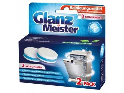 Glanz Meister čistič myčky nádobí tablety 2 ks