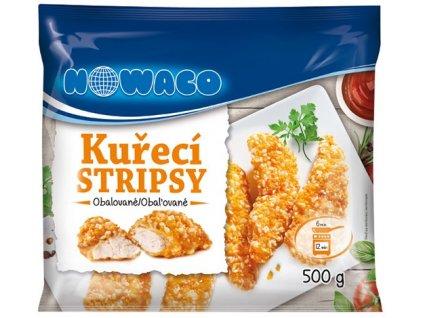 Kuřecí stripsy obalované  500 g