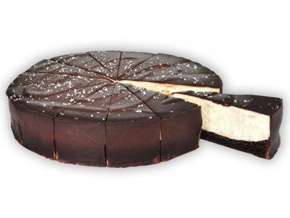 Den a noc čokoládovo-smetanový dort krájený 1350 g