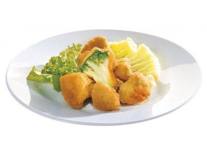 Obalovaná brokolice předsmažená.Cena za kilogram.