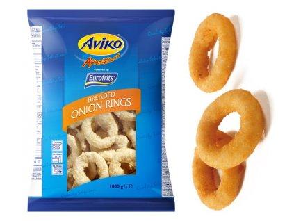 Aviko Onion Rings (kroužky cibulové) 1 kilogram