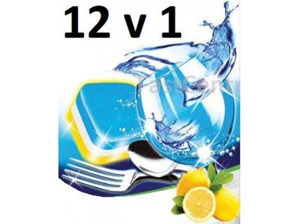 Tablety do myčky 12v1 Německá top kvalita.Cena za  balení 10 kusů