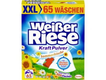 Weißer Riese na barevné prádlo 65 praní 3,5 Kg Německo Sommer