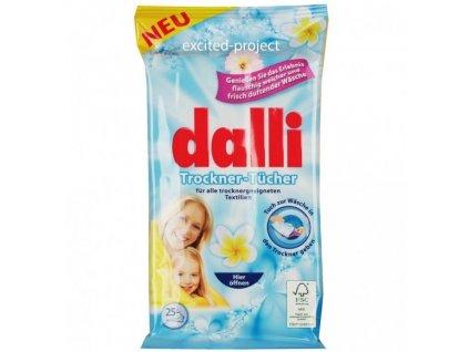 Dalli - vlhčené ubrousky do sušičky 25ks