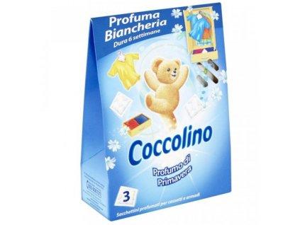 Coccolino vonné sáčky Profumo di Primavera 3ks - modré
