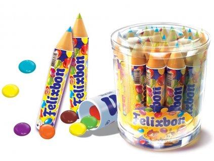 Felixbon 15 gramů tužka, která píše a je plná bonbonů.