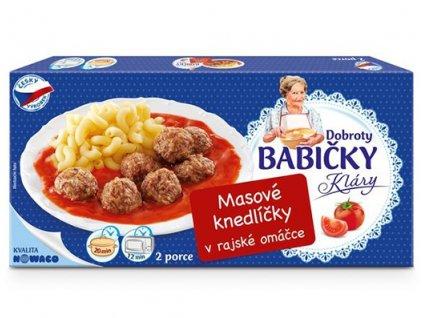 Masové knedlíčky v rajské omáčce Dobroty babičky Kláry  450 g