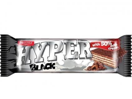 Hyper 55g BLACK oplatka mléčná v mléčné polevě