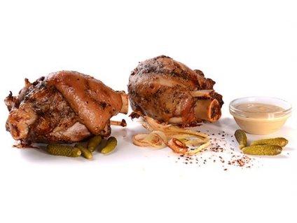 Vepřové zadní kolínko s kostí 1 ks sous-vide Banquet 700 - 900g cena za kilogram.