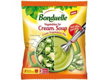 Zelená polévková zeleninová směs Bonduelle  400 g 3 porce