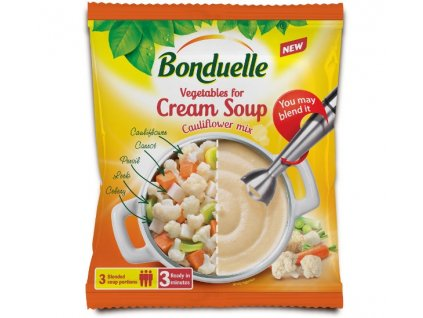 Květáková polévková zeleninová směs Bonduelle 400 g 3 porce