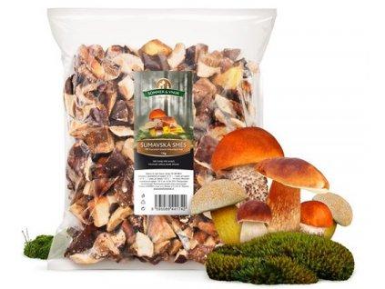 Šumavská směs hub  1 kg