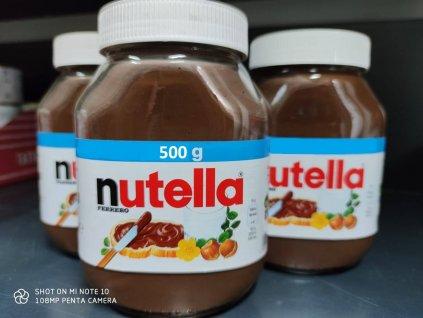 Nutella 500g dovoz Německo