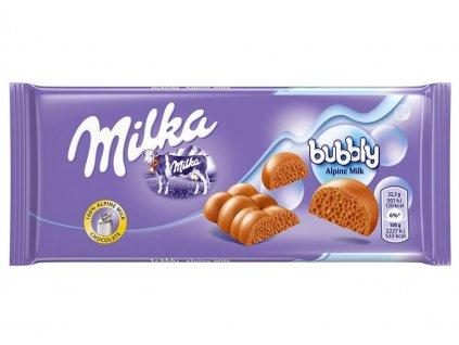 MILKA 95g Bubbly Alpine Milk