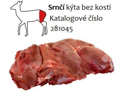 Srnčí kýta bez kosti  balení 2 Kg