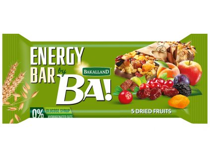 BA! 5 Dried Fruits and Nuts 40g