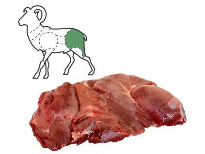 Mufloní kýta bez kosti balení 2 Kg