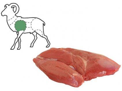 Mufloní plec bez kosti balení 1,6 Kg