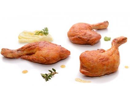 Kuřecí stehna 6 ks sous-vide Banquet 1,1 – 1,4 kg cena za kilogram.
