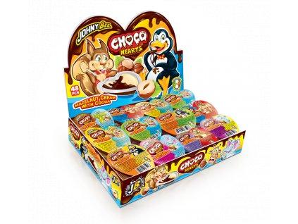 Johny Bee - Choco Hearts nugeta 15g