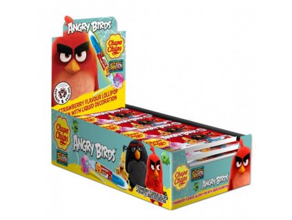 Chupa Chups Angry Birds + Fun Pen 27g