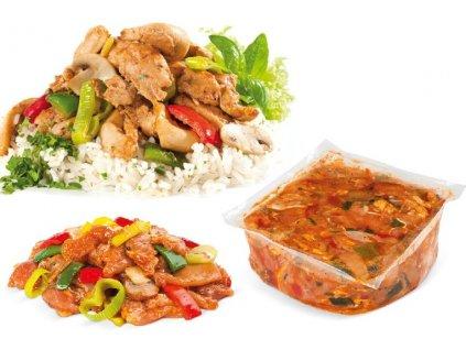 Kuřecí mix se zeleninou a kořením za 99 Kč/Kg .Balení obsahuje 2 Kg.