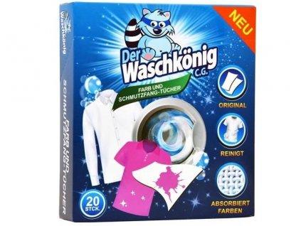 Waschkönig ubrousky proti zabarvení prádla - 20ks
