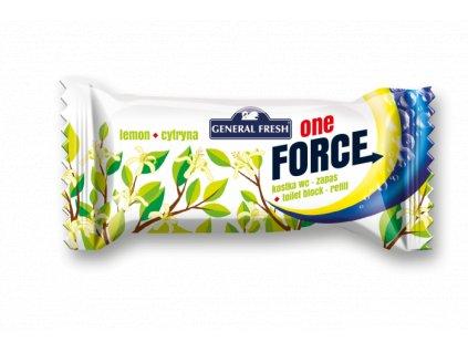 Force One Kostka WC 40g Refill Lemon
